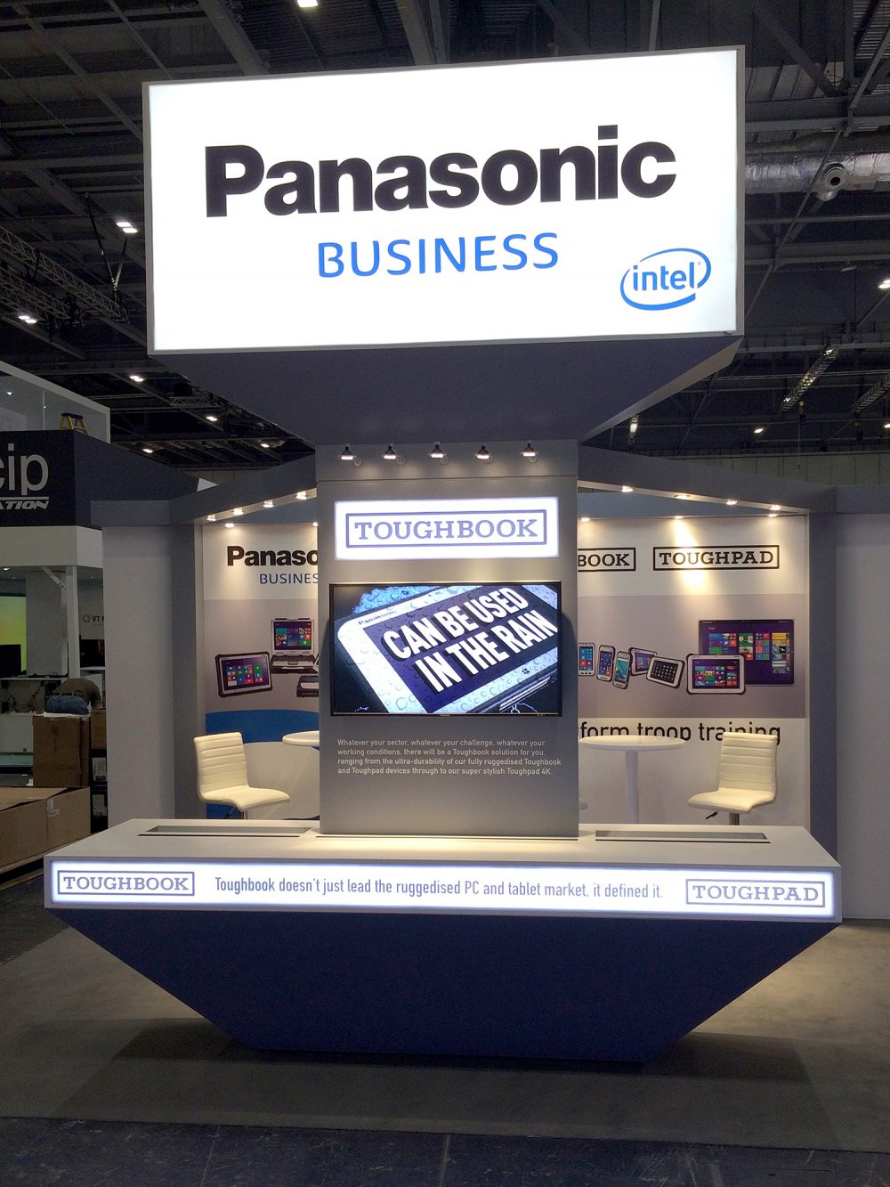 Exhibition Stand Definition : Toughbook exhibition stands u shapes