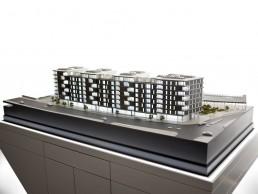 Bespoke model plinth display by SHAPES
