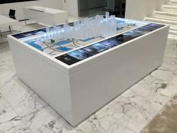Canary Wharf model plinth