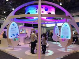 CooperVision exhibition stand by SHAPES