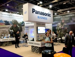 Panasonic exhibition stand by SHAPES