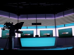 Sky Sports Racing desk by SHAPES