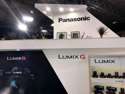 Panasonic Lumix exhibition stand by SHAPES