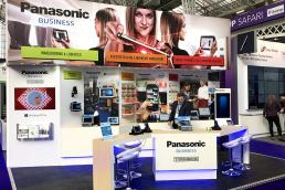Panasonic Toughbook exhibition stand by SHAPES
