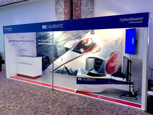 CyberSource exhibition stand by SHAPES