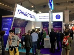 Thingstream exhibition stand by SHAPES
